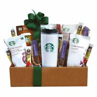 California Delicious Starbucks Coffee Mornings Gift Box , New, Free Shipping on Sale