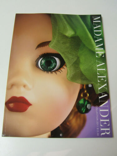 MADAME ALEXANDER DOLL CATALOG 2011 NEW