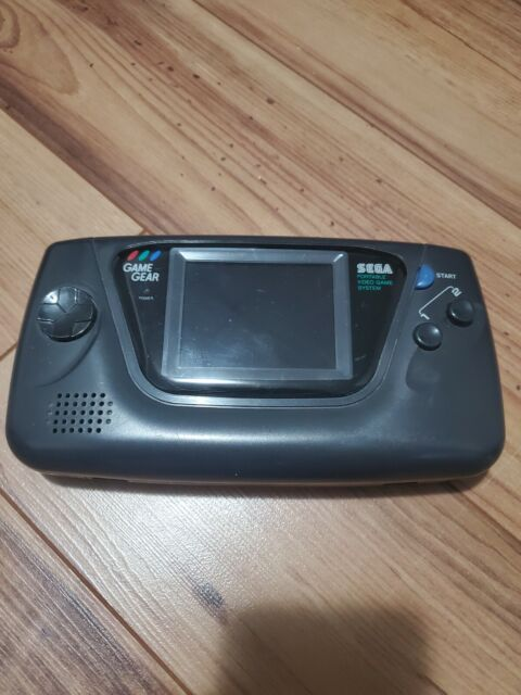 Sega Game Gear Handheld Console - Black - RECAPPED!