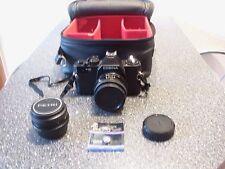 """Spiegelreflex Kamera """" Cosina CT-10 """" + 2 Objektive + Tasche"""