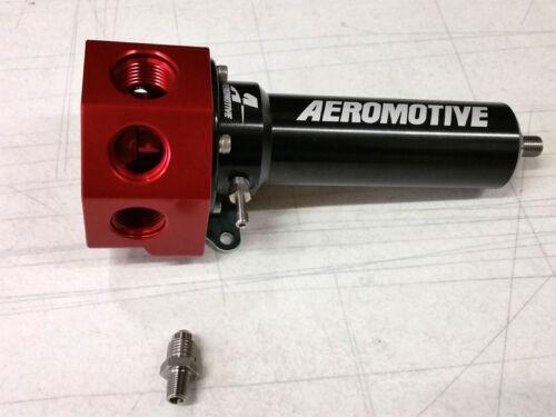 SALE Aeromotive Belt Pump High Flow Fuel Pressure Regulator 40-100 psi Unv EFI