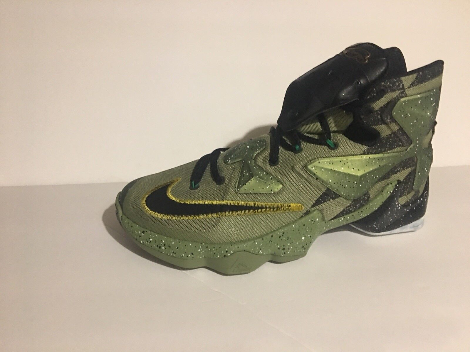 Nike Lebron XIII 13 835659 309 All Star Alligator US sz11 Green Black Multi