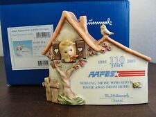 HUMMEL AAFES DISPLAY PLAQUE 110 YEARS AMY AND AIR FORCE EXCHANGE SERVICE