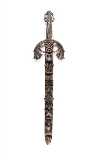 Fancy Dress Party Costume Accessory Sheath Fake Plastic Battle Sword