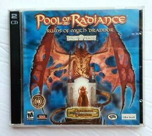 Majesty-Gold-Edition-2002-PC-Disc-Only-amp-Pool-of-Radiance-Myth-Drannor-Disc-1