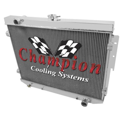 1973 74 Dodge Coronet 1974 Charger Champion 3 Row Aluminum Radiator CC504