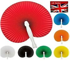 UK SMALL BAG SIZE FOLDING HAND FAN FANS FOR US LADIES WITH HOT FLUSHES 7 COLOURS