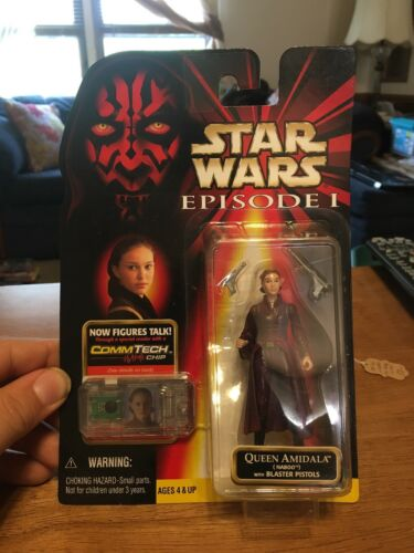 Hasbro Star Wars Episode 1 Naboo Queen Amidala Action Figure