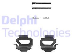 Delphi-Front-Brake-Pad-Fitting-Kit-For-Ford-Escort-1990-1995-LX0149-NEW