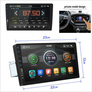 Touch-Screen-1DIN-9inchs-Car-in-Dash-Radio-Stereo-MultiMedia-Player-Mirror-Link