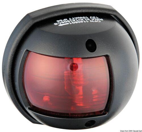 Osculati LED Positionsleuchte Navigationslicht schwarz//112.5 Grad links