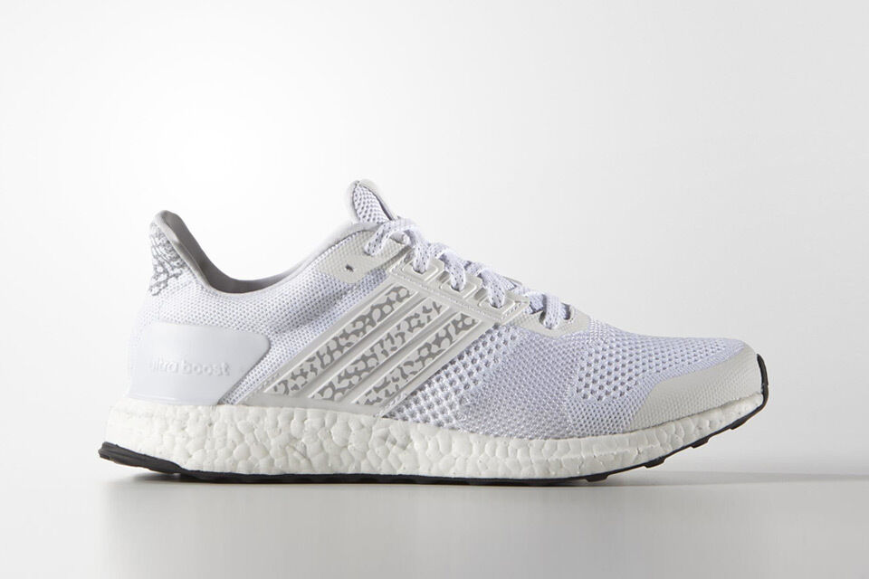 ADIDAS ULTRA BOOST ST Glow Sneakers M 2016 White AF6396 Sneakers Glow Shoes NWT 3m LTD creme d2d19d
