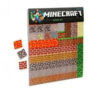 Educational Toy Minecraft Sheet Magnets Kids Gift Child Play Building Xmas