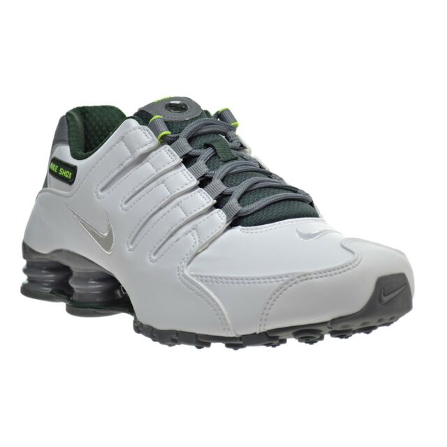 ... authentic nike shox nz se running shoes white grey 833579 101 men size  13 fast ship 7670f955d
