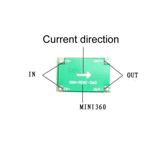 DC//DC Réglable Step-Down Mini Power Convertisseur Module de carte de modèle d/'avion etc