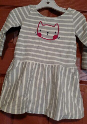 nwt Gymboree girls lavender bunny dress size 12-18 mos