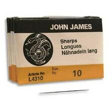 John James Sharp Beading Needles Size 10 25 Pack