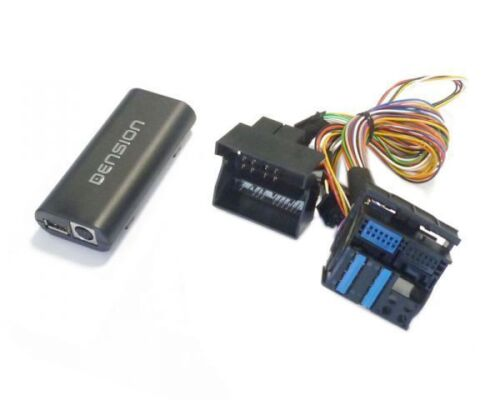 Dension gateway Lite iPod iPhone USB Interface bmw 40 pin plana contacto gwl3bm4