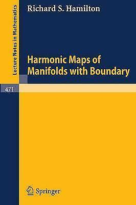 1 of 1 - Harmonic Maps of Manifolds with Boundary (Lecture Notes in-ExLibrary