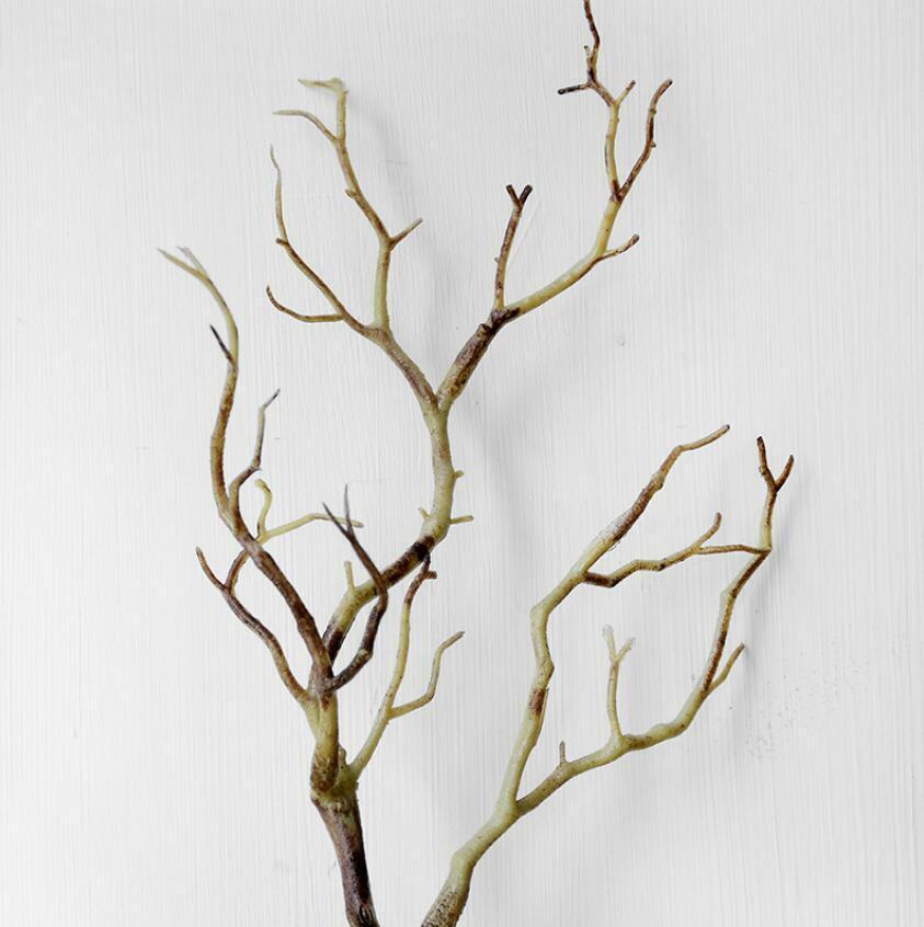 Coral Branches Plastic Artificial Dried Tree Plants Home Garden Decor Party E7A4
