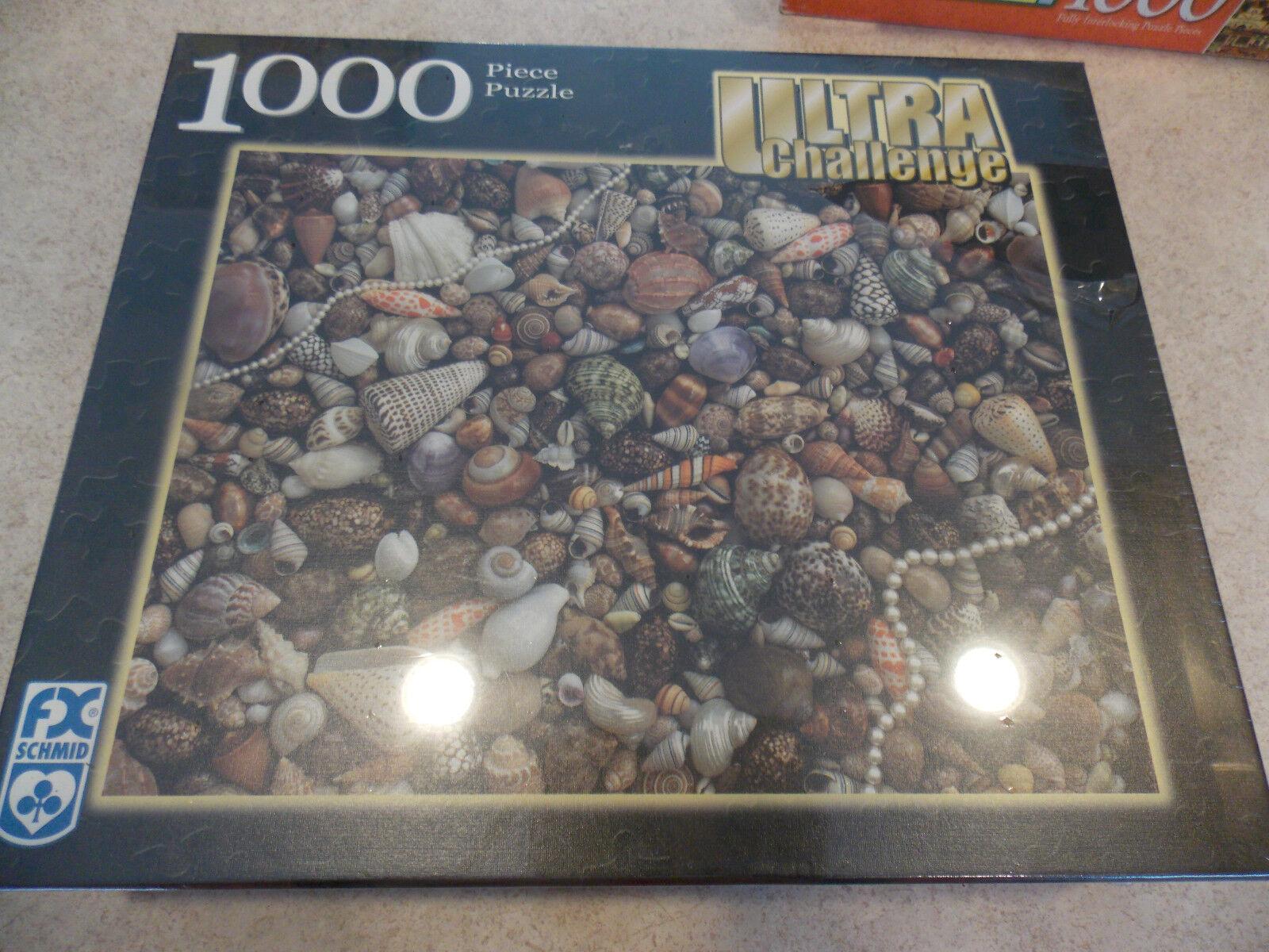 con il 100% di qualità e il 100% di servizio FX Schmid Ultra Chtuttienge Sea Gems Seashells 1000 Pc Puzzle Puzzle Puzzle NIB  servizio premuroso