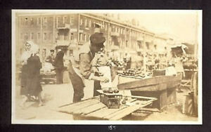 RUSSIA-RUSSLAND-MOSCOW-MARKET-AMERICAN-REAL-PHOTO-SEPT-1917-158