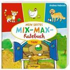 Mein erstes Mix-Max-Ratebuch Tiere von Stefanie Vogt (2014, Gebundene Ausgabe)