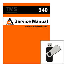 Agco Allis Chalmers Ac 940 Articulated Wheel Loader Service Repair Manual Usb