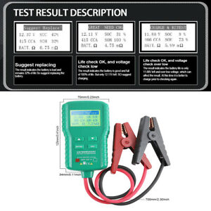 12V-Car-Truck-Battery-Tester-Universal-AH-CCA-Voltage-Battery-Load-Analyzer