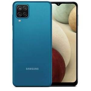 Samsung Galaxy A12 A125M 64GB Dual Sim GSM Unlocked Android Smart Phone - Blue
