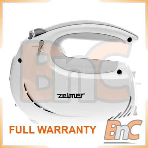 Électrique à la main mélangeur Zelmer 481.4 Symbio Fouet 400 W Blanc Gris Poche