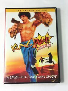 Kung-Pow-Enter-the-Fist-DVD-2004-The-Chosen-Edition-Sensormatic