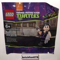 Ninja Turtles Bagged Flashback Shredder Minifigure Lego 5002127 Polybagged Set Toys