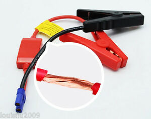 Universal DC Car Emergency Adapter Start Power Adapter Cable EC5 Picture X2X7