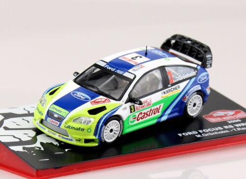 Die-cast Ford Focus RS WRC06 Rally 2006 #3 1:43 Ixo//Altaya Modellauto