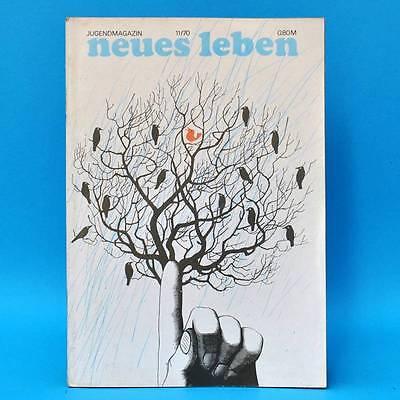 Kompetent Ddr Neues Leben 11/1970 Gojko Mitic Roland Ducke Fc Carl Zeiss Jena Till Patzer