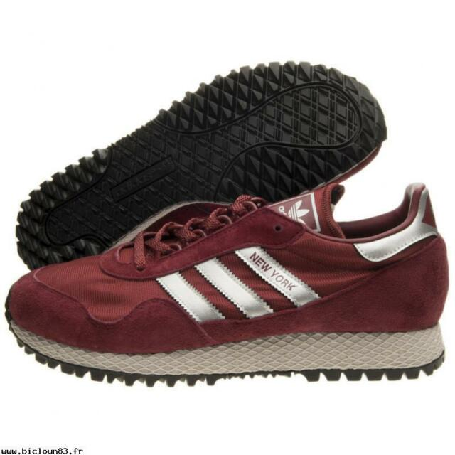 chaussures adidas rouge bordeaux
