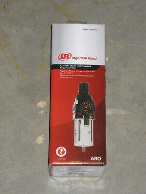Black Ingersoll Rand P39344-600-VS 1//2-Inch Filter-Regulator Piggyback