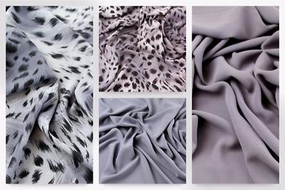 PH-5560-A-M Mix /& Match Polyester Crepe Dress Fabric