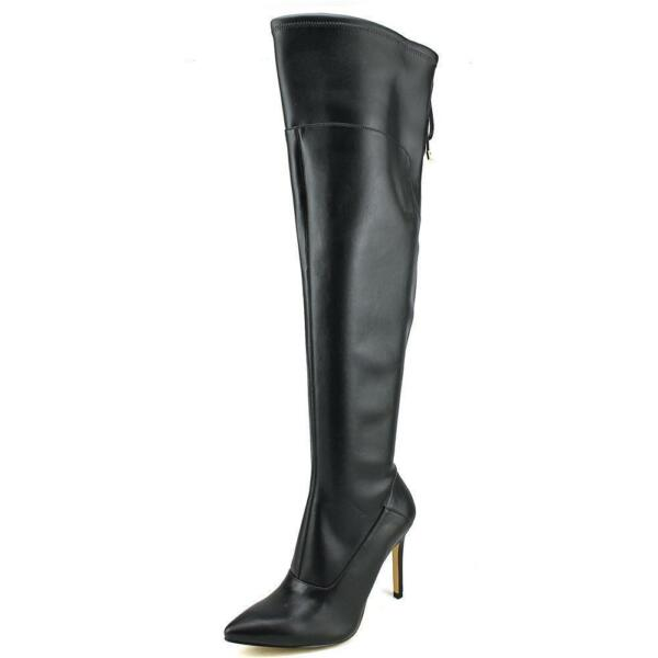 07a64b4a40c GUESS Valerine 2 Women US 7 Black Over The Knee Boot Blemish 17911 for sale  online