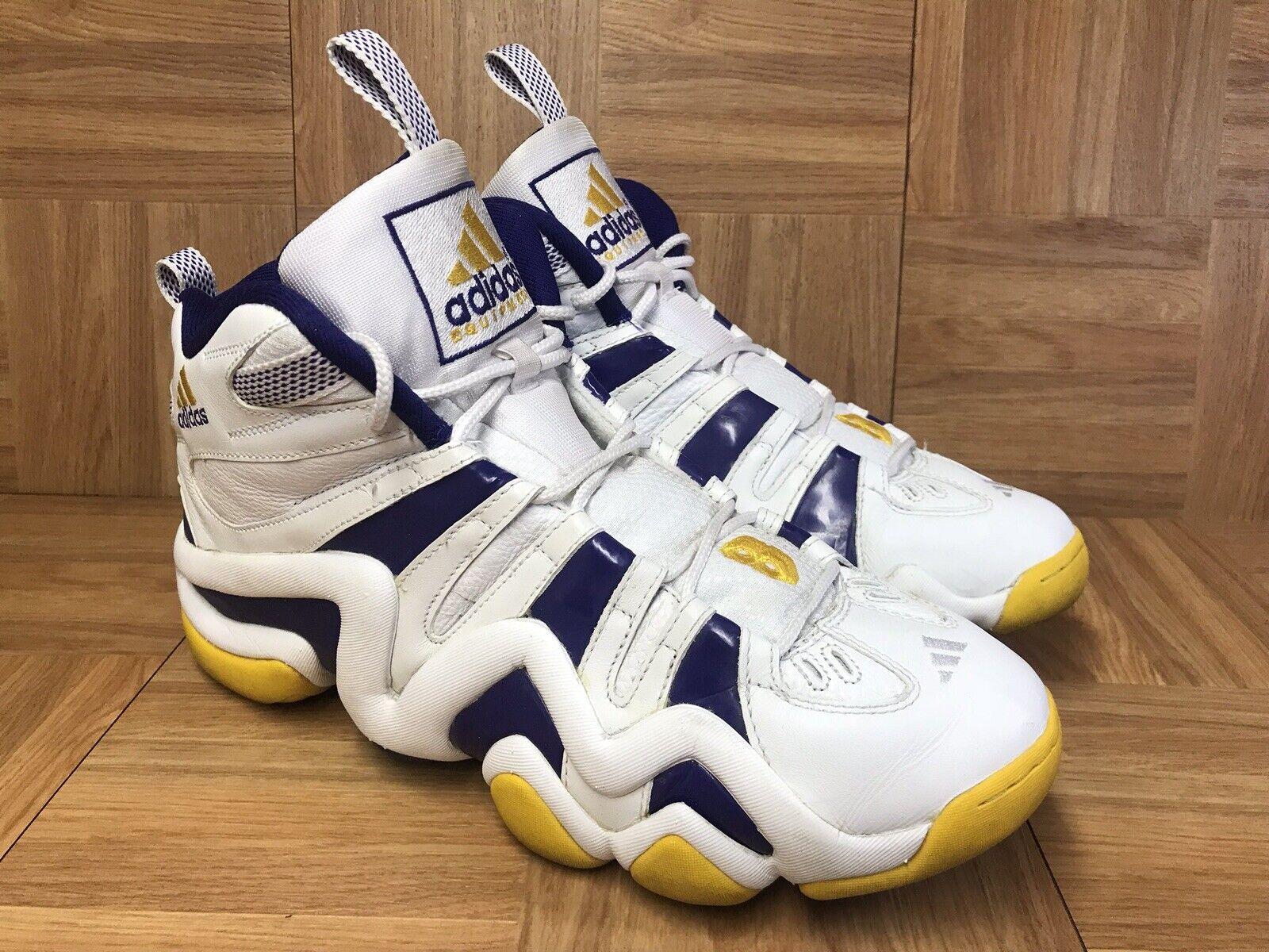 Sz Lakers Sunshine gold 8 Crazy Bryant Kobe Adidas Vintage