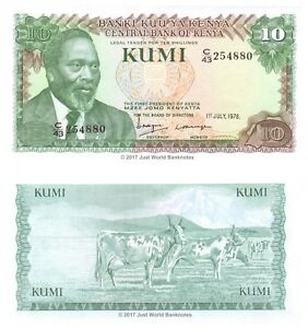 Kenya-10-Shillings-1978-P-16-Banknotes-UNC