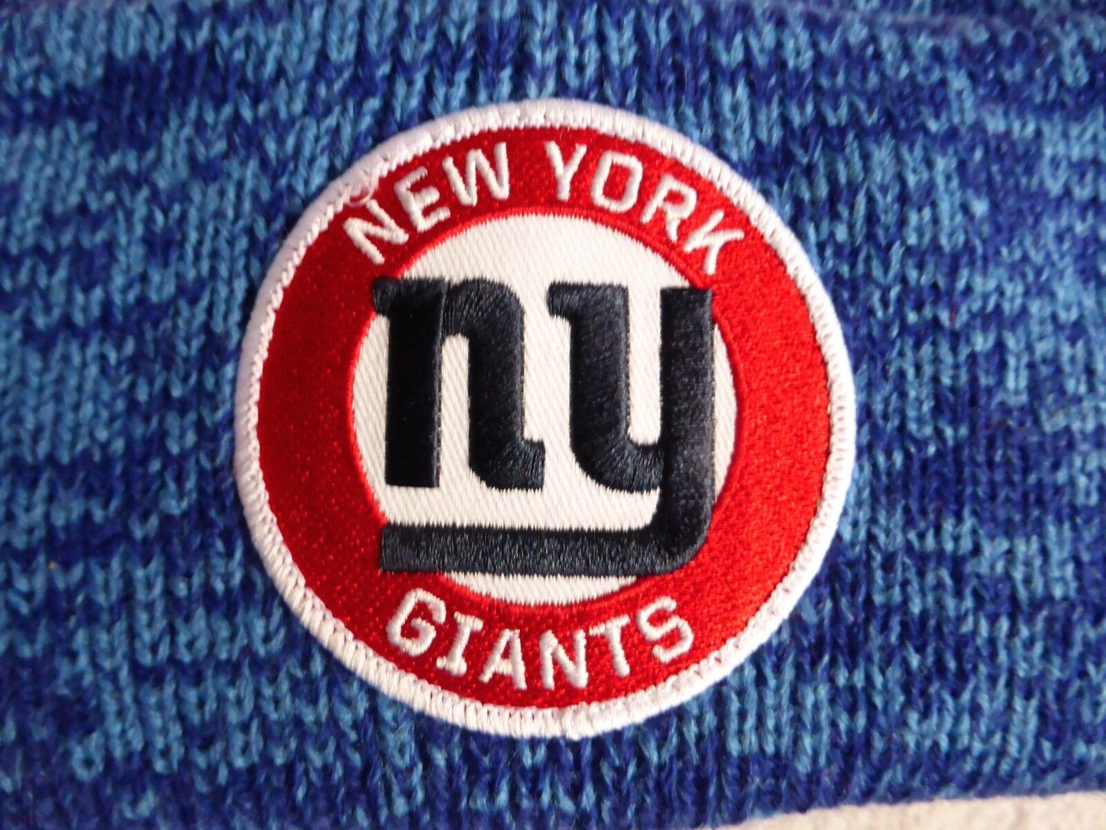 NY Giganti NEW NEW NEW YORK'47 Marca Football Americano Cuff Bobble Cappello Beanie del momento NFL 0159e5