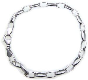 Bracelet pour Femme Chaîne Charms Breloque Vrai Argent 925 Pendentif Sterling