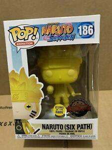 NARUTO FUNKO POP!: NARUTO SHIPPUDEN SIX PATH SPEC.ED #186 *RARE UK STOCK*
