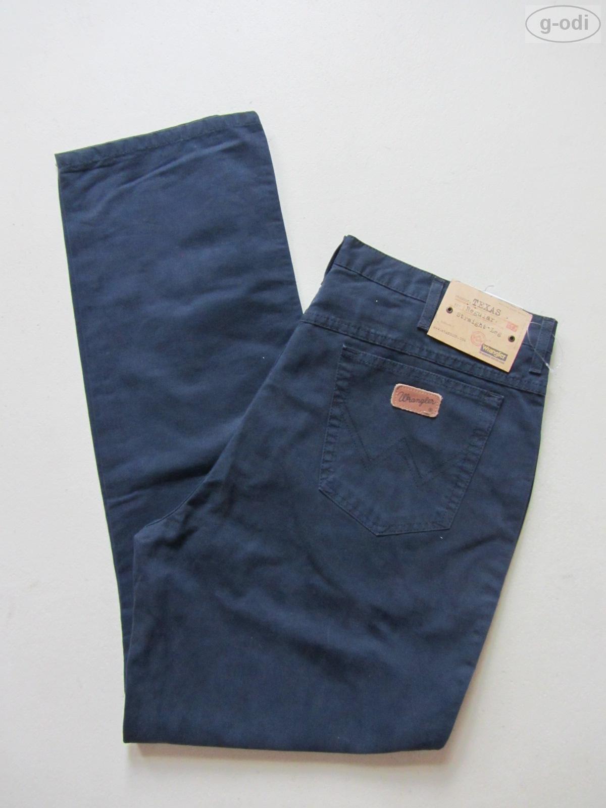 Wrangler TEXAS Jeans Hose, W 40  L 34, marine blue, NEU   Indigo Denim, bequem