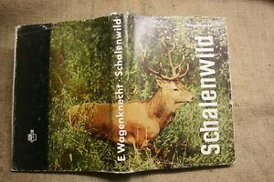 Fachbuch-Jaeger-Schalenwild-Hege-Rotwild-Trophaeen-Schwarzwild-DDR-1978