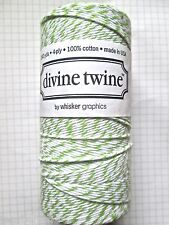 1 full roll/spool of 'GREEN APPLE' DIVINE bakers Twine 220 metres per roll
