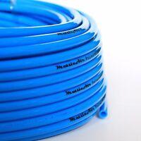 1pc Pu Polyurethane Tubing 10 Mm Od Blue 30m (98 Ft) Mettleair Pu10-30b