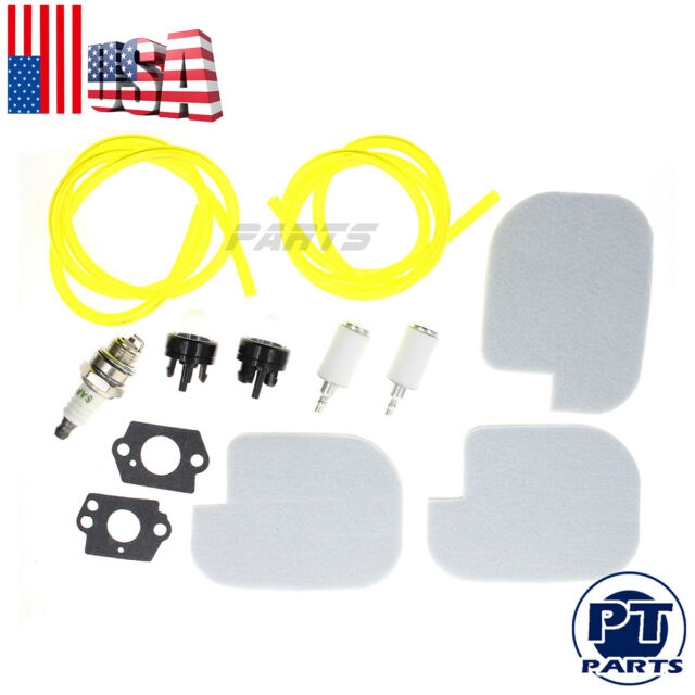 Air Filter Fuel Line Filter Tune Up Kit for Poulan Craftsman Chainsaw 530057925
